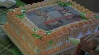 Birthday cake (Ube Flavor)