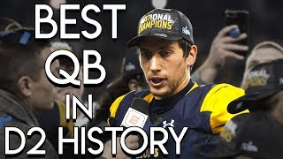 Luis Perez the Best QB in D2 History