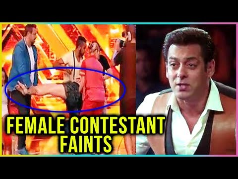 Female Contestant FAINTS On Dus Ka Dum...