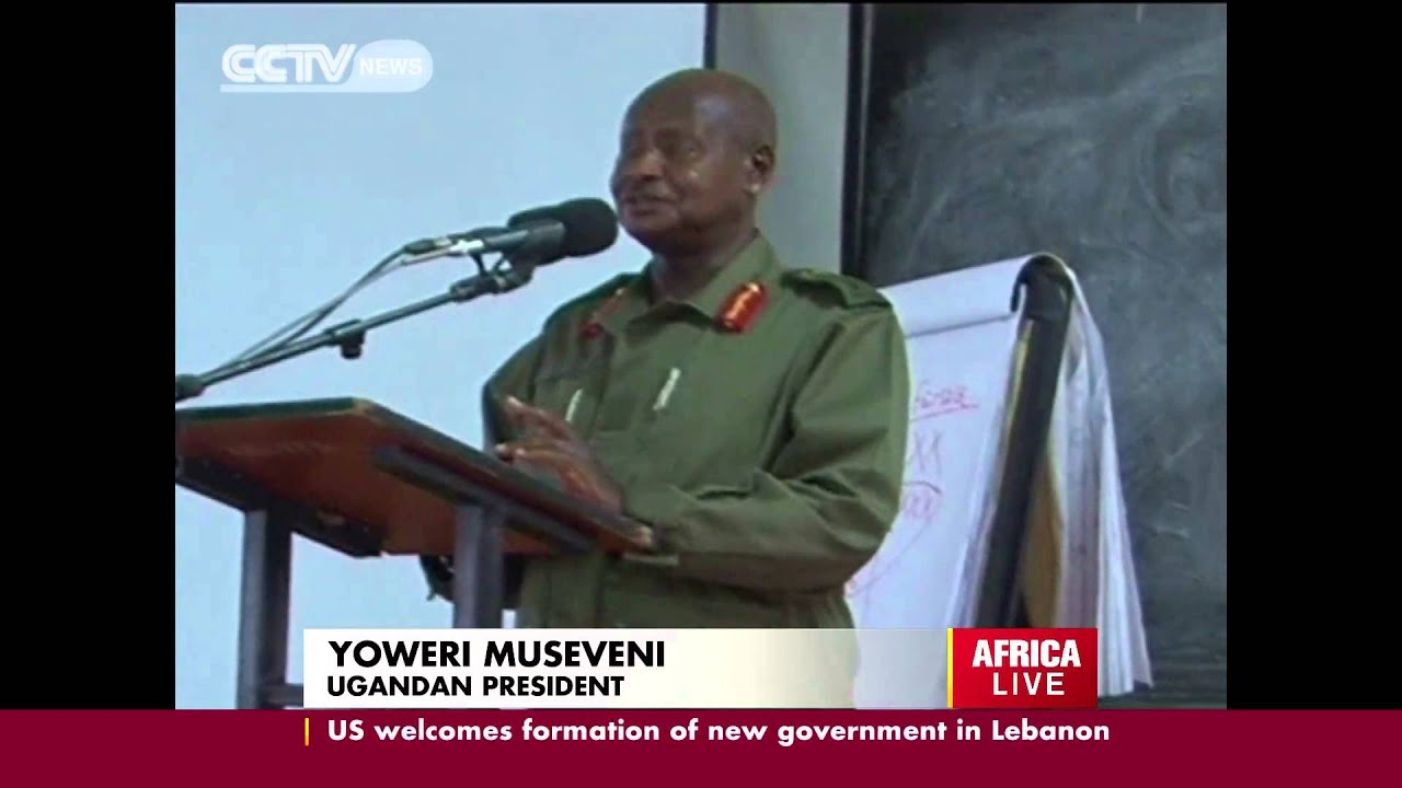 President museveni speech on homosexuality