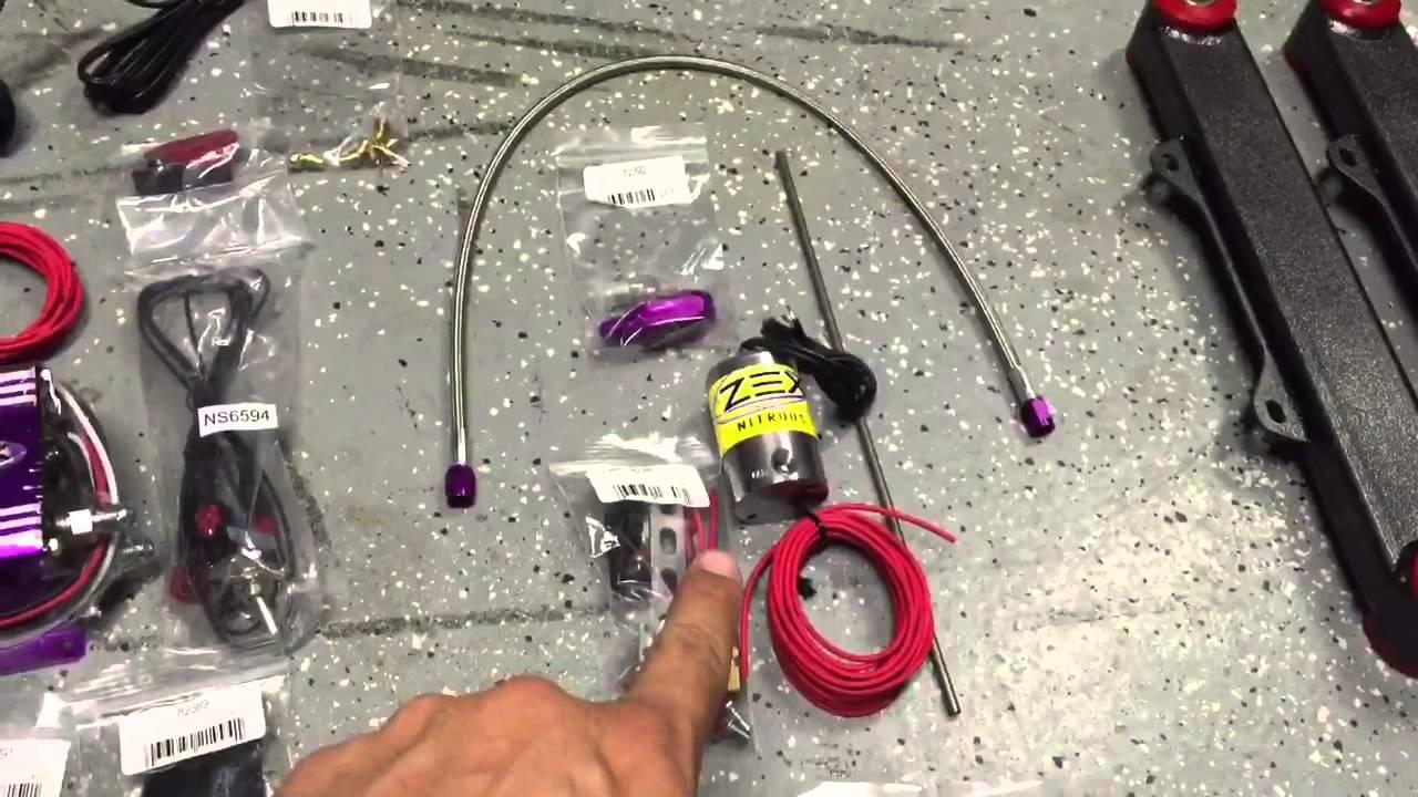 2012 chevy camaro zex nitrous install part1 [ 1280 x 720 Pixel ]