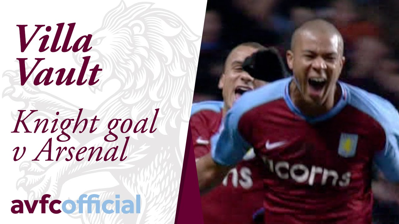 Zat Knights Goal Against Arsenal On Boxing Day 2008 Youtube