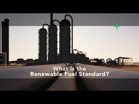 The Renewable Fuel Standard - What is it?