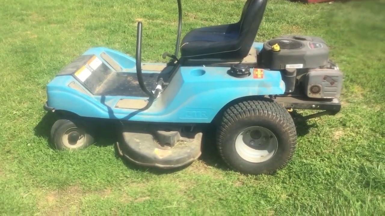 Dixon ZTR lawn mower reveiw - YouTube
