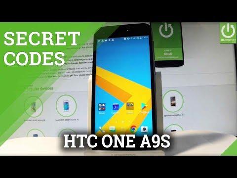 Secret Codes in HTC One A9s - Hidden Mode / Tricks / Advanced Options