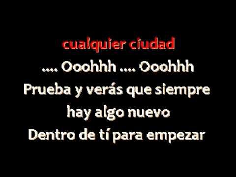 Laura Pausini - Gente - Karaoke Con Guia de voz