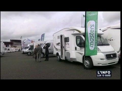 Salon du v hicule de loisirs 2012 le mans youtube for Salon vehicule de loisir