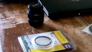 58mm UV Filter Unboxing