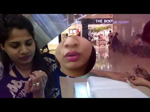 GETTING MY NAIL EXTENSION DONE | GIRLS DAY OUT | ACRYLIC NAILS | NAIL SPA OBEROI