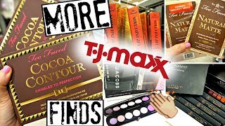 The JACKPOT at TJ MAXX!! ♡ Too Faced, ABH, Stila, Marc Jacobs & MORE!