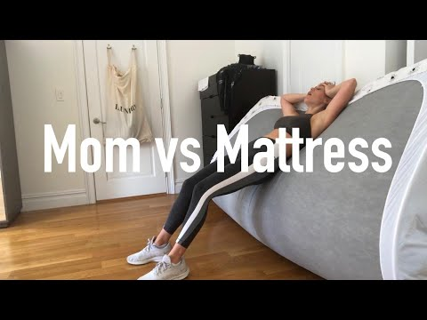 Mom Vs Mattress  (attempting To Move A King Size Mattress By Myself)