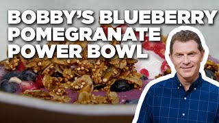 Bobby's Blueberry-Pomegranate Power Bowl | Food Network
