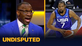 Skip & Shannon react to Team USA's basketball team losing twice in pre-Olympics | NBA | UNDISPUTED