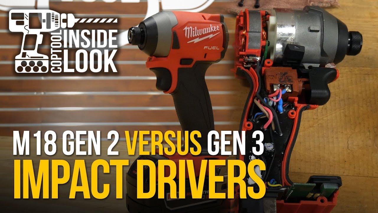 Inside Look: New Milwaukee M18 GEN 3 Impact Driver vs GEN 2 Impact Driver
