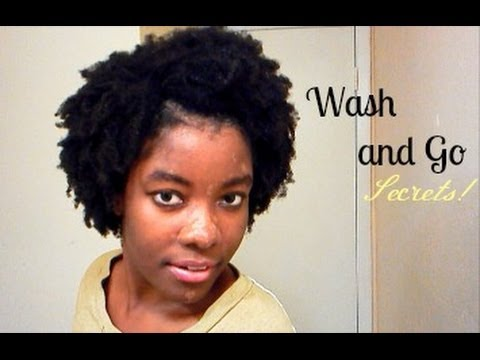The Secret To The Perfect 4c Wash And Go Neatsecrets Youtube