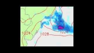 Weather Warning. South Atlantic Cyclone?