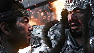 Ghost of Tsushima Gameplay - Khotun Khan Boss Fight
