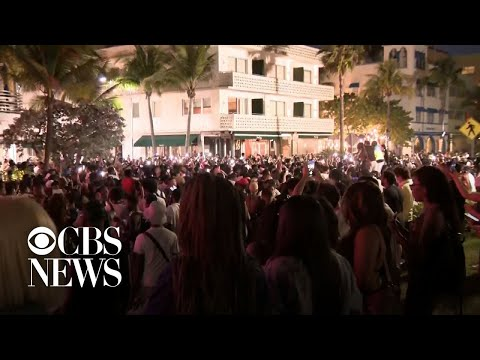 State of emergency declared in Miami amid spring break partying