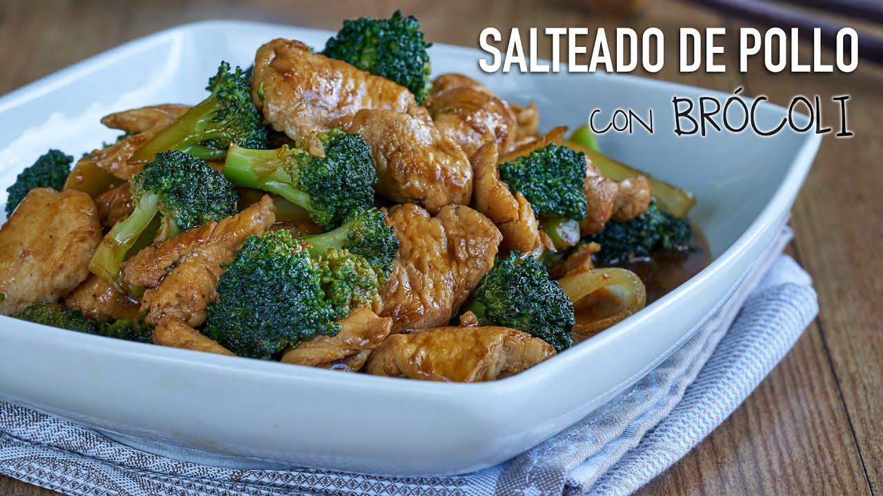 como disponer brocoli mislead pollo estilo chino