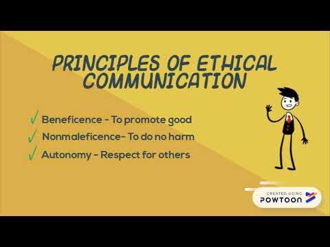 Ethical Communication - YouTube