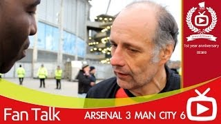 Arsenal FC 3 Man City 6 - We Defended Like The Dog and Duck Pub Team