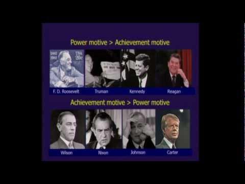 Psychology Lecture: David G. Winter