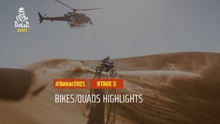 #DAKAR2021 - Stage 3 - Wadi Ad-Dawasir / Wadi Ad-Dawasir - Bike/Quad Highlights