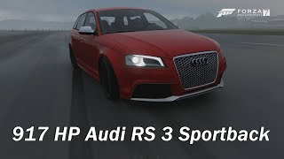 Extreme Power, No Handling - 2011 Audi RS 3 Sportback (Forza Motorsport 7)