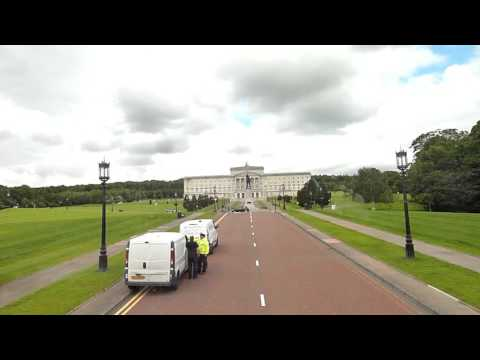 Stormont Parliament Buildings - Belfast - Northern Ireland - Tour Commentary