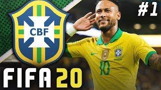 WORLD CUP 2022 BEGINS!! - FIFA 20 Brazil Career Mode EP1