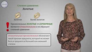 Уроки русского Относительные прилагательные