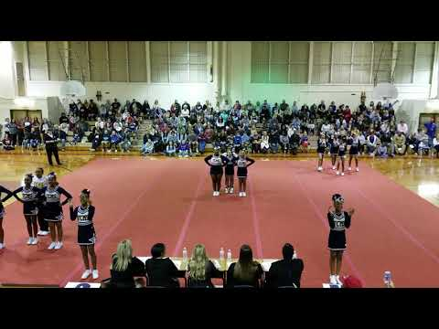 Falling Creek Middle School at Chesterfield County Middle School Cheer Competition 2019