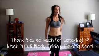 Kayla Itsines' Bikini Body Guide Week 3 Wednesday: Arms & Abs
