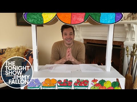The Tonight Show: At Home Edition (Monologue, Steve Higgins Checks In)