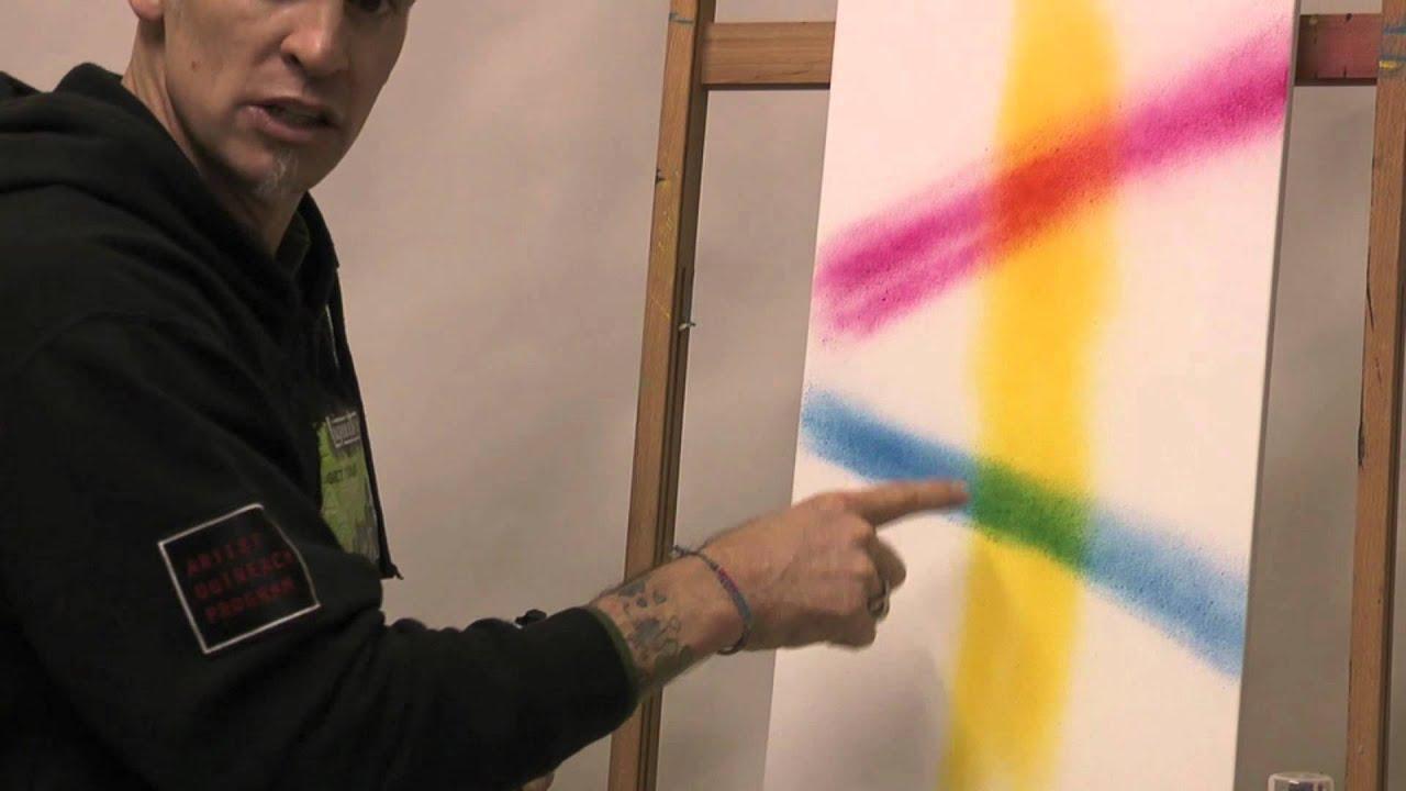 White See Through Spray Paint