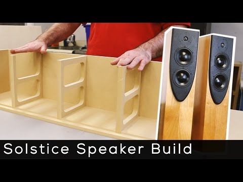 Solstice Speaker Kit Build