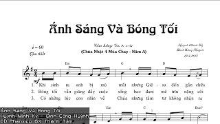 [Thánh Ca] Ánh Sáng Và Bóng Tối - Huỳnh Minh Kỳ & Đinh Công Huỳnh - CĐ Phanxico GX Thánh Tâm