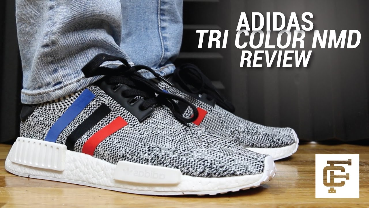 53e7a1a5b34cd5 ADIDAS TRI COLOR NMD REVIEW - YouTube