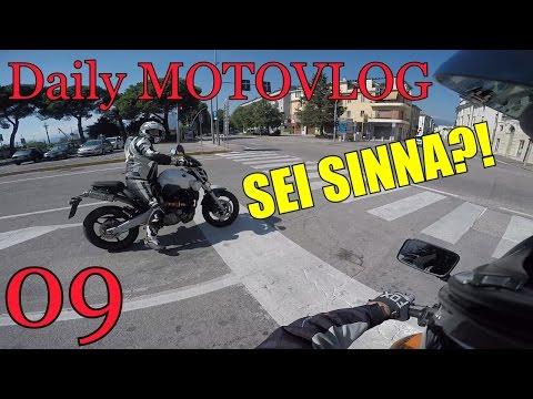 MI HA RICONOSCIUTO! - Daily MOTOVLOG ITALIA #09
