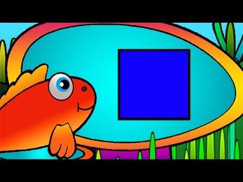 Çizgi film - Kırmızı Balık Pepe ile Şekilleri Öğreniyoruz (Kare)