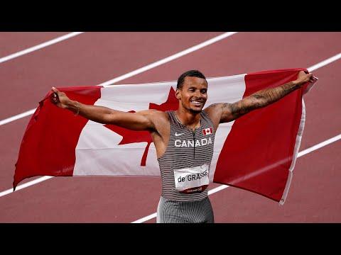 Canadian sprinter Andre De Grasse wins 200m gold in Tokyo