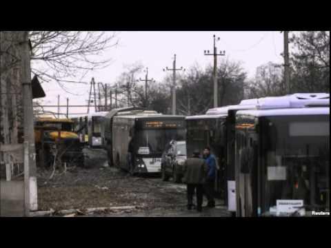 Ahead of Ukraine Talks, Combatants Allow Civilians to Evacuate