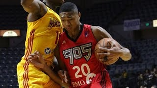 Bruno Caboclo posts 16 points & 13 rebounds vs. the Mad Ants, 11/14/2015