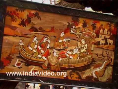 Wood inlay craft of Karnataka