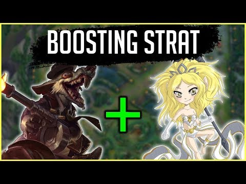 NEW Boosting Strat Commentary Guide - Twitch Jungle + Janna Top | League of Legends