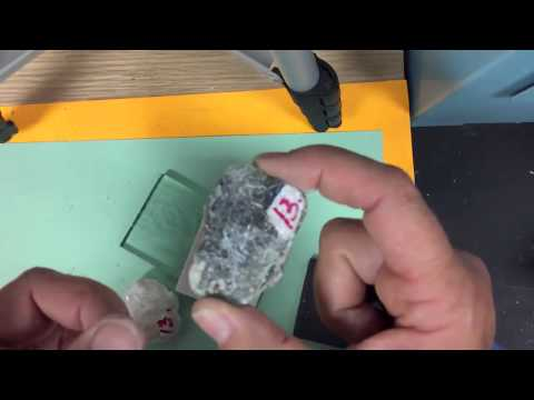 Identifying the Rock forming minerals; Physical Geology