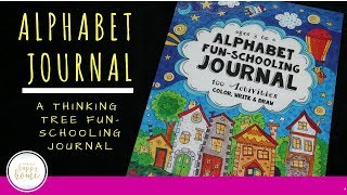 Thinking Tree Alphabet Journal || Fun-schooling Alphabet Journal || Kindergarten Alphabet Book
