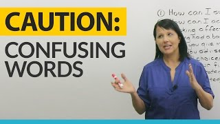 Top 10 Most Confusing Words for Advanced English Learners