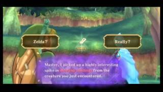 Zelda Skyward Sword #5 Metsän pikkueläimet