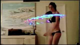 Amazing Hula Hoop Talented Sexy Girl Dance Performance